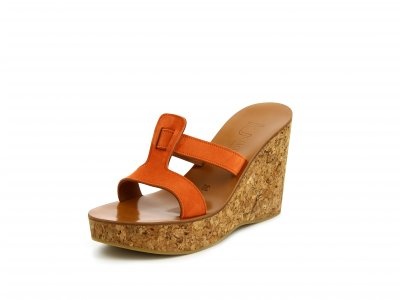 657d76f00b30 ARANKA. Naranja Suede Leather. 427.50  · Women Wedges sandals